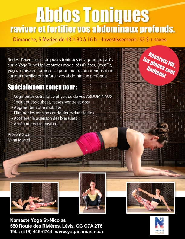 Abdos toniques , Yoga Tune Up, Yoga Balles