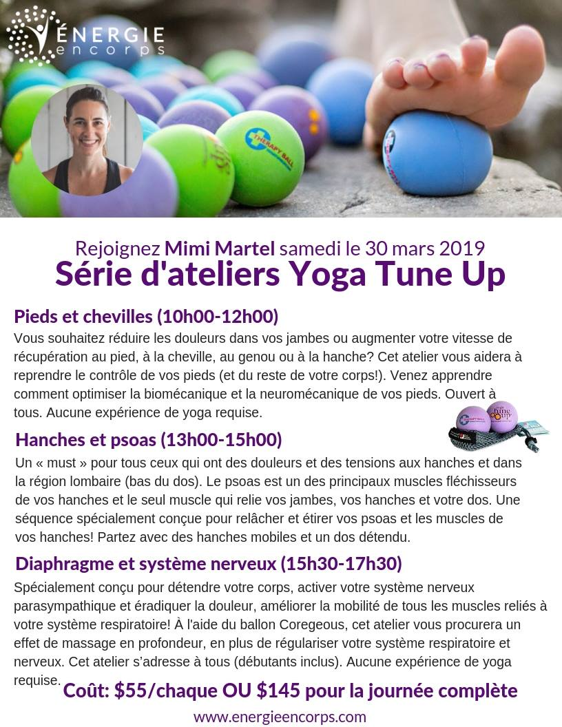 Yoga fonctionnel pour le nerf vague et système entérique, yogami, coregeous , yoga pour la gestion du stress, mimi martel , energie encore, yoga montréal, prendre son pied, full body Tune Up , yoga tune up montréal, yoga fonctionnel. , yoga-balles