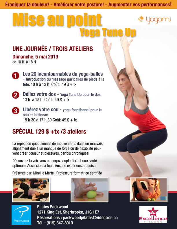 Mise-au-point-Yoga Tune Up -Sherbooke, Yoga-balles , Yoga fonctionnel, pilates packwood, Pilates sherbrooke, Mimi martel, yogami