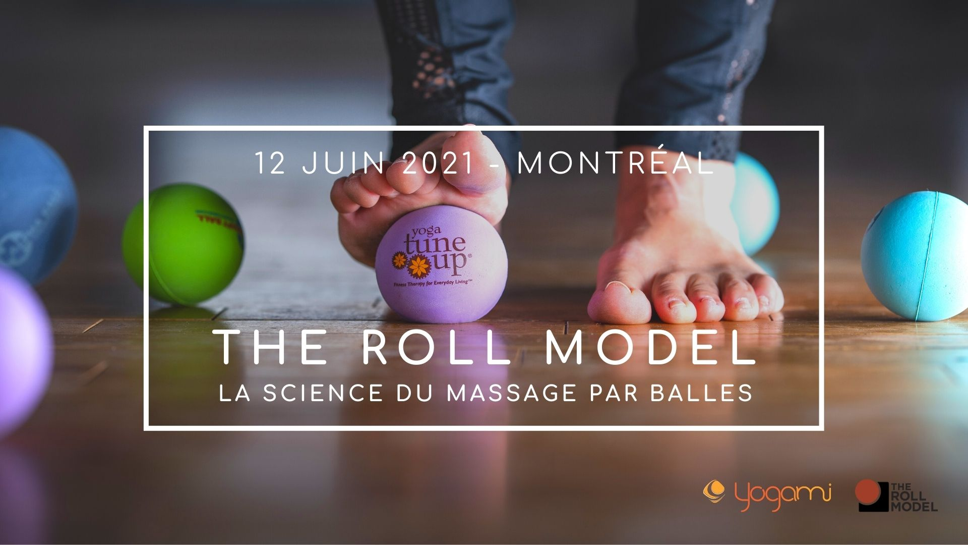 formation the roll model yoga-balles